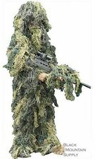 Ghillie Suit Woodland Camo Design, For Hunting & Paintball Sniper Adult & Youth