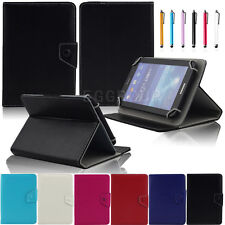 "7"" Universal PU Leather Stand Case Cover +Pen For Alcatel One Touch POP 7 Tablet"