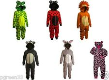 Onesie Animal Designs / Fancy Dress Sleeper All In One Size 2 Years to 10 Years