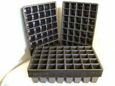 40 CELL F/ SIZE PLASTIC SEED TRAY INSERTS CHOOSE FROM 5 TRAY INSERTS UP TO 100