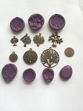 Tree Jewelry charms Flexible Push Molds for Polymer Clay Resin Jewelry
