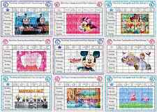 A4 Laminated Potty Training Reward Chart with**Stickers**&**Magnet/Sticky Pads**