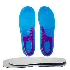 Cuttable Size Soft Silicone Sport Shoe Pads Motion Shock Absorber Shoe Insoles