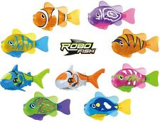 GENUINE Zuru LED Robo Fish Water Activated Robotic Fish With 2 Extra Batteries