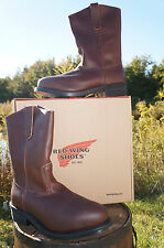 RED WING MENS STEEL TOE PECOS WORK BOOTS! 2214/2265~NIB