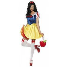 Sexy Snow White Costume Adult Fairytale Princess Halloween Fancy Dress