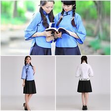 New Chinese Republican Tradition Student School Uniform Dramaturgic Costume Suit