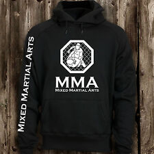 MMA Cage Fighting Mens Hoodie -- Training Top Mixed Martial Arts Clothing Hood