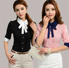 2014 Hot New Fashion Summer Women Clothing Casual Tops Office Blouse Work Wear