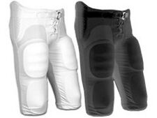 Champro Integrated Built-in Pads ADULT Football Pants, Black Or White, FPCA