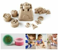 2x Box Kinetic Sand Play Creative DIY Indoor No-mess Colored Kids Gift Free P&P