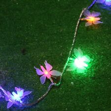 5/10M 3D Butterfly LED String Light  8 Modes XMAS Party Kids Room Decoration D09