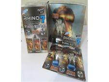 Rhino 7 Platinum 3000 Male Sex Performance Enhancer 1 2 3 5 12 24 pills PowerZEN
