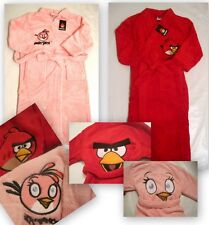 New BNWT boys girls angry birds soft dressing gown age 5-6 7-8 9-10 11-12 years