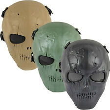 Skull Skeleton Army Airsoft Paintball BB Gun Full Face Game Protection Safe Mask