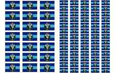 Army Air Corps Flag Stickers rectangular 21 or 65 per sheet