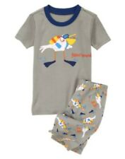 GYMBOREE SLEEPWEAR PELICAN FISHING 2pc PAJAMAS 6 12 18 24 2 3 4 5 6 7 8 10 NWT