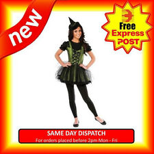 WOMENS WICKED WITCH OF THE WEST SEXY ADULTS WIZARD OF OZ COSTUME
