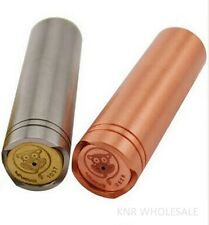 4NINE Mechanical Mod Clone 18650 Copper Stainless Steel Magnetic ~ USA Seller