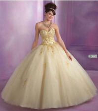 New Quinceanera Formal Prom Party Ball Gown Evening Dress Size2-28 Custom Made