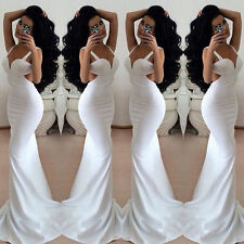 Elegant Womens Ladies Sexy Backless Party Evening Cocktail Prom Long Maxi Dress
