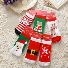 Fall Winter Christmas Thick Cotton Terry Socks Children Baby's Socks Gifts HOT Q