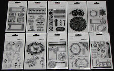 Kaisercraft Clear Stamps 'COLLECTIONS 2014' (Choose from 27 Designs) KAISER