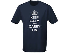 Keep Calm And Carry On Funny Kids T-Shirt Unisex (12 Colours)
