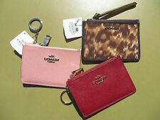 COACH Wristlet Wallet Skinny ID Holder 50795 Handbag Leather Signature NEW Bag