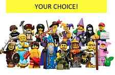 LEGO SERIES 12 MINIFIGURES PIGGY GUY GOTH GIRL WIZARD HUN JESTER YOUR CHOICE LEG