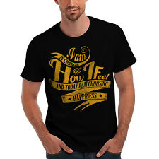 Wellcoda | NEW I'm In charge Of Mine Living Mens Womens S-5XL T-Shirt *o499