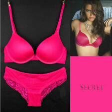 Sexy little Things Women's Lace Underwear Sets Bra+Panties 2 PCS Candy Colors