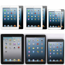 Apple iPad 2, 3, 4, Air, Mini/Mini 2 - 128GB/64GB/32GB/16GB New (Other)