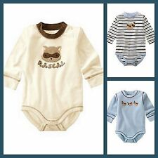 NWT infant gymboree FOREST TRAILS long sleeve cotton 1pc SHIRT TOP BODYSUIT~UPIC