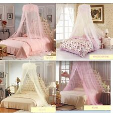 Princess Hight QC Mosquito Net Canopy Bites Protect For Queen Full Twin-xl Size