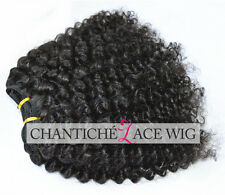 7A Afro Kinky Curly Mongolian Virgin Human Hair Weaves 3pcs Bundles Extensions