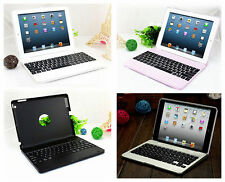 Clam Shell Become Notebook Wireless Bluetooth Keyboard Case For Apple iPad 2 3 4