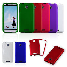 Multicolor Hard Rubberized Snap On Phone Cover Case Accessory for HTC Desire 510
