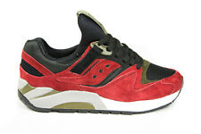 """Saucony Grid 9000 in Red/Black S7-013 S70134-9 """"Spice Pack"""" SZ 8-13 BNIB"""