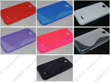 Multi Color S-Types TPU Silicone CASE Cover For HTC V1 D310w Desire 310