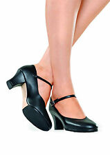 "NEW! SO DANCA 2"" HEEL CHARACTER SHOES DANCE. COLORS: BLACK OR CARAMEL! (CH102)"