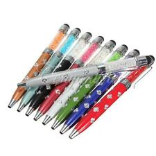 2 in1 Crystal Touch Screen Stylus Ball Point  Pen for iPhone 6 6 Plus Samsung LG