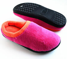 ISOTONER Women's Microterry Clog Slippers Wildberry/Pink Size S M L XL Retail$26