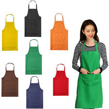 Aprons Chef Kitchen Cooking Baking Front with ocket Butcher pinafore popular et