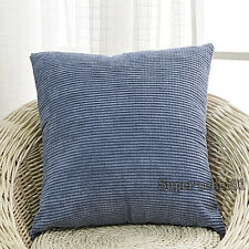 Colorful Corn Kernels Corduroy Square Sofa Decor Pillow Case Cushion Cover new d