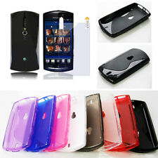 S-Line Soft TPU GEL Case Cover + LCD SP for Sony Xperia neo MT15i, neo V MT11i