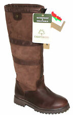 LADIES CABOTSWOOD 'BURLINGTON' COUNTRY RIDING WATERPROOF LEATHER BOOTS
