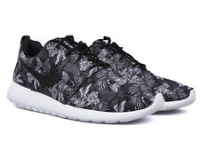 Nike Roshe Run Print Floral Grey Black 655206-010 Sunrise