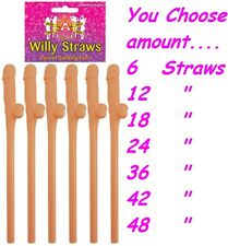 WILLY STRAWS Hen Night Party Accessories Bride to Be Brides Girls Night Out Do