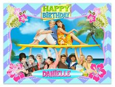 Teen Beach Movie Birthday Edible Image Cake Topper Personalized Frosting Sheet